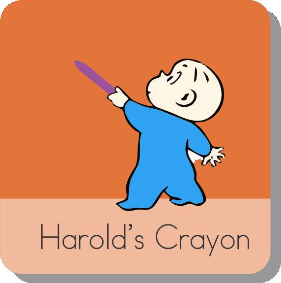 Harolds Purple Crayon Video - Online Stories For Kindergarten