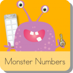 Monster Numbers KindergartenWorks