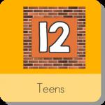 Teens Start With a 1 Harry Kindergarten