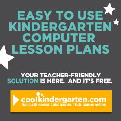 Kindergarten Computer Lesson Plans
